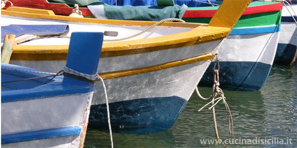 barche - Cucina di Sicilia