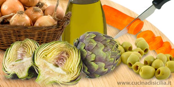 caponata di cacocciuli - Cucina di Sicilia
